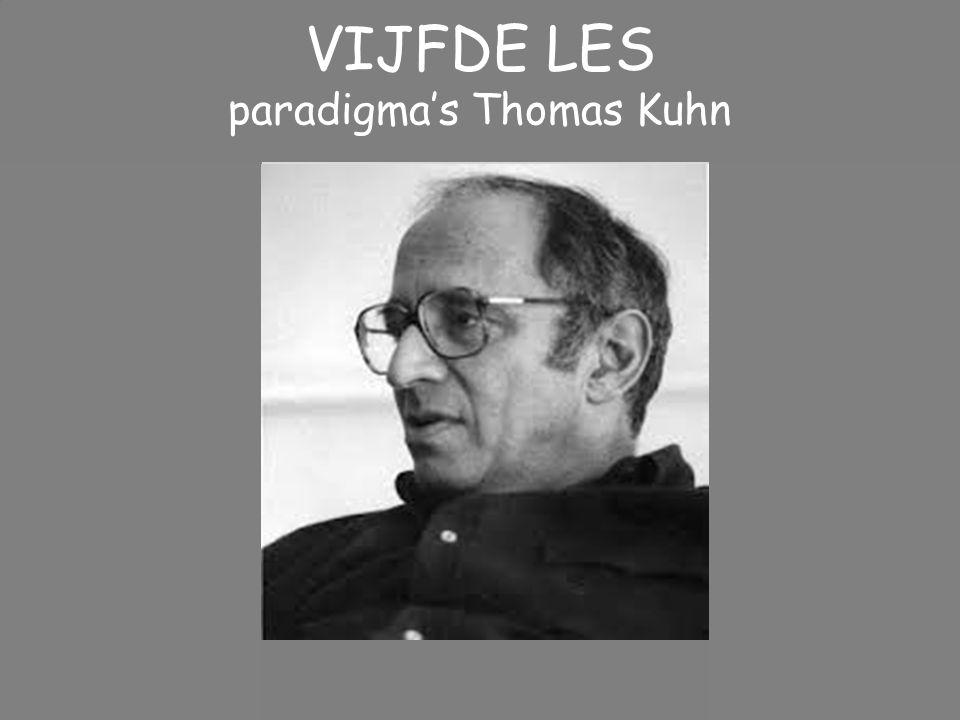paradigma's Thomas Kuhn