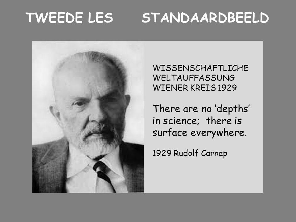 TWEEDE LES STANDAARDBEELD