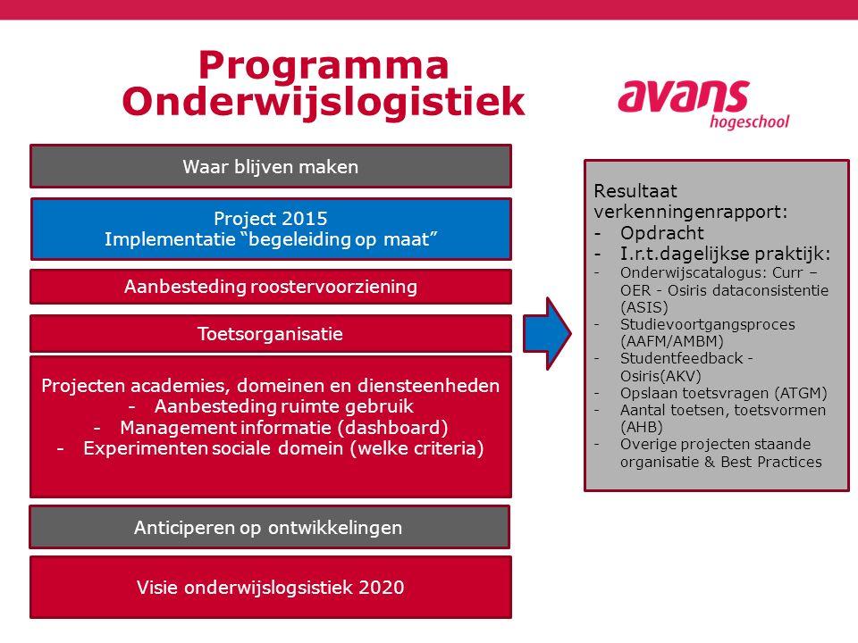 Programma Onderwijslogistiek