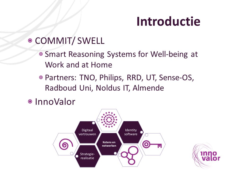 Introductie COMMIT/ SWELL InnoValor