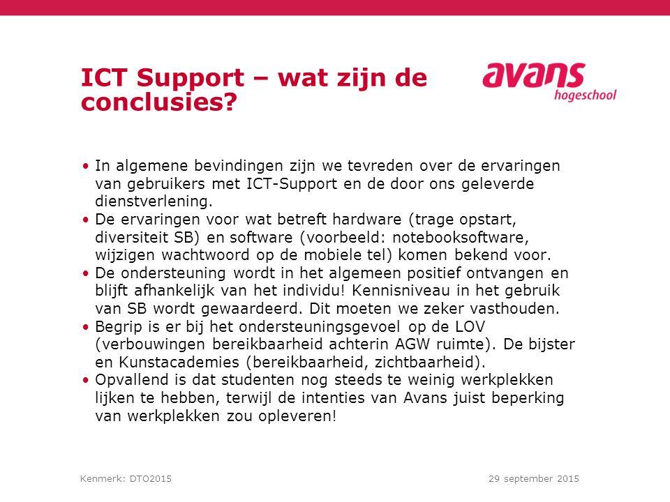 ICT Support – wat zijn de conclusies