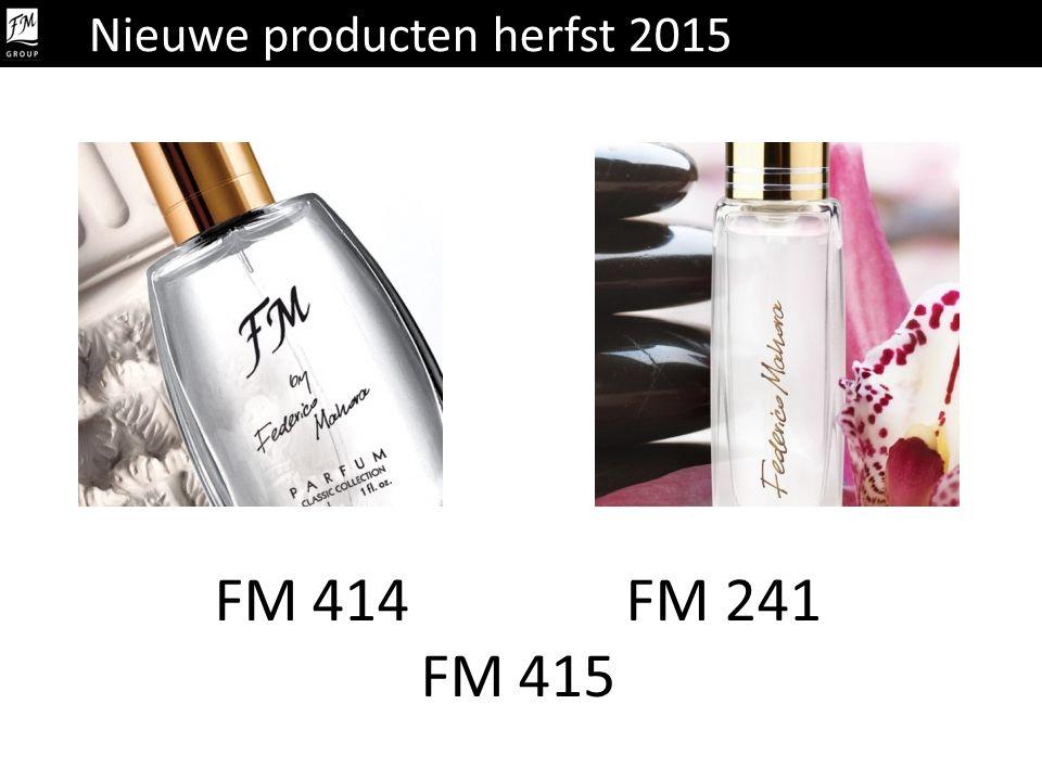 Nieuwe producten herfst 2015