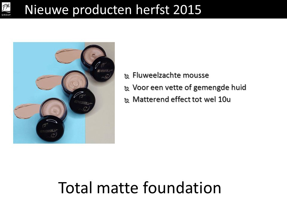 Total matte foundation