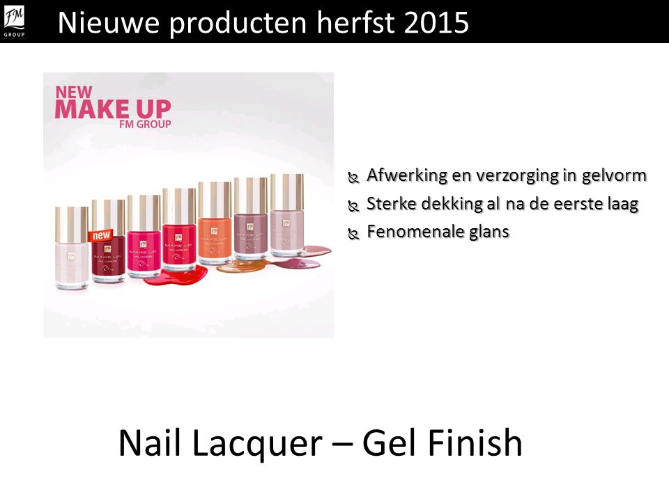 Nail Lacquer – Gel Finish