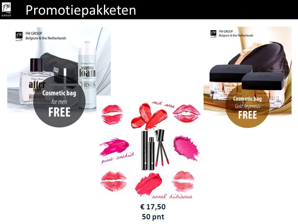 Promotiepakketen Promotiepakket € 17,50 50 pnt