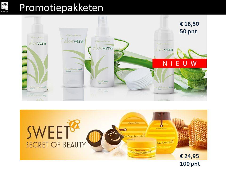 Promotiepakketen € 16,50 50 pnt € 24,95 100 pnt