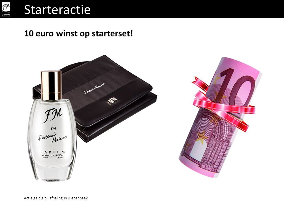 Starteractie 10 euro winst op starterset!