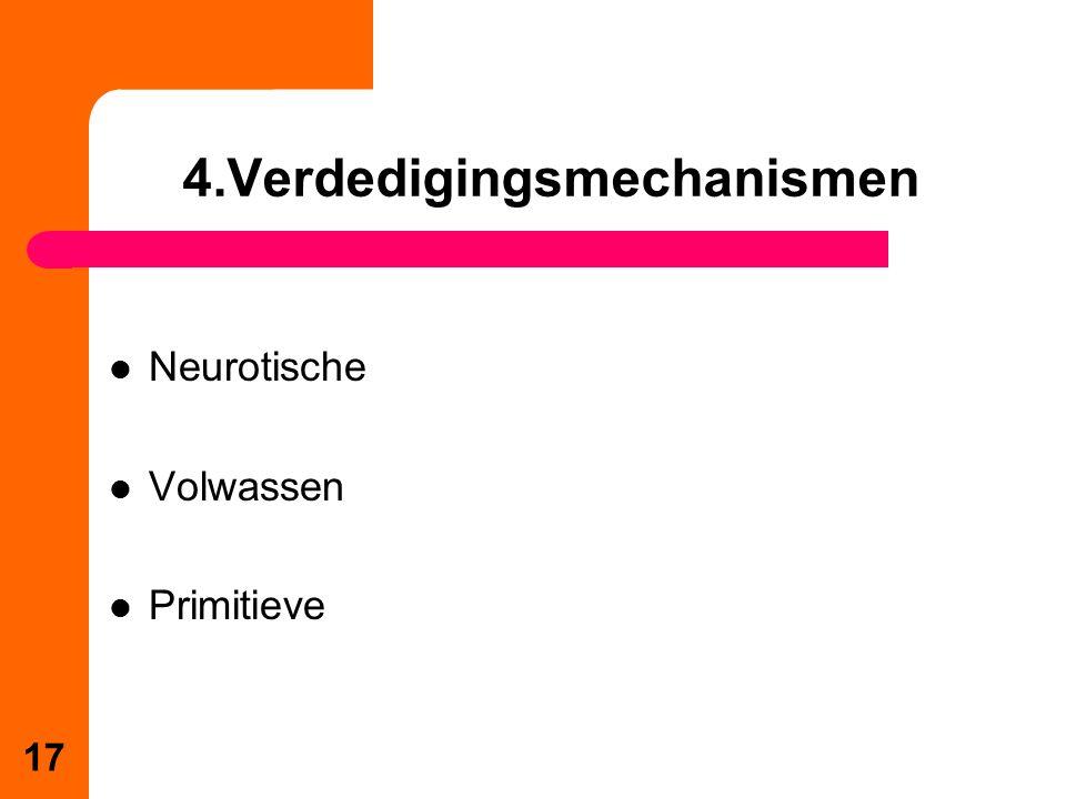4.Verdedigingsmechanismen