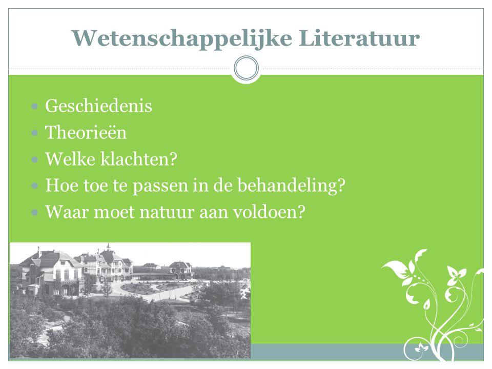 Wetenschappelijke Literatuur