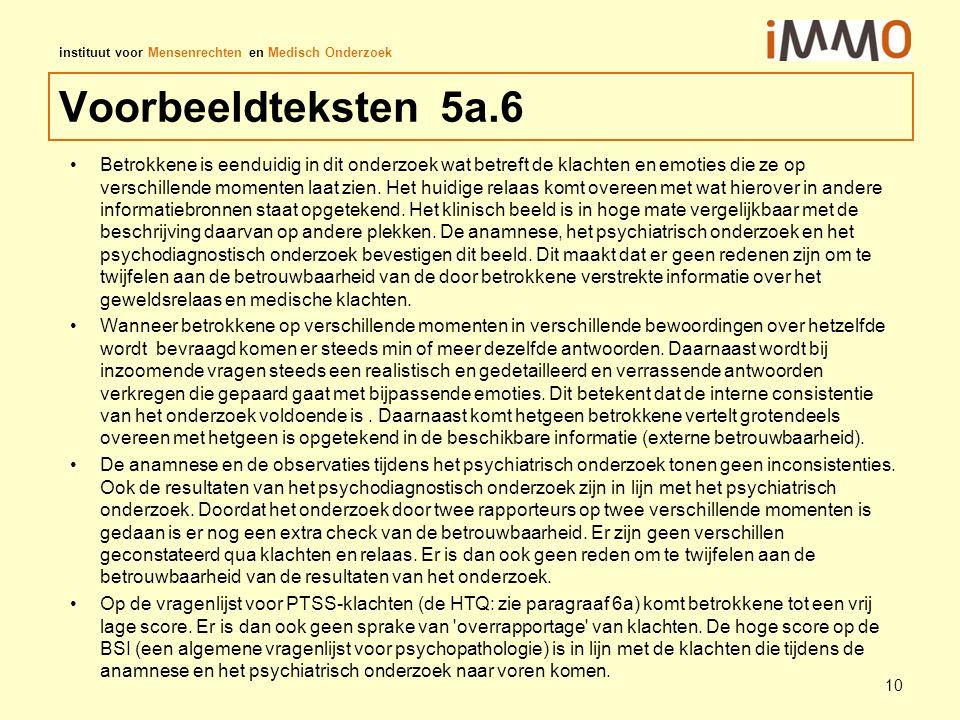Voorbeeldteksten 5a.6