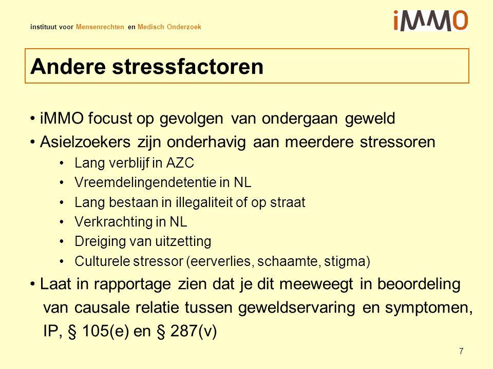 Andere stressfactoren
