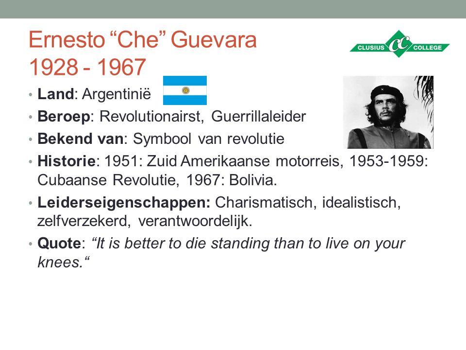 Ernesto Che Guevara 1928 - 1967