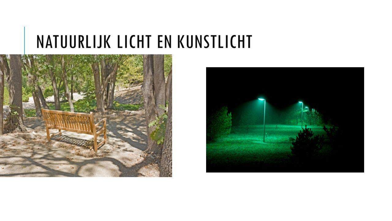 Natuurlijk licht en kunstlicht
