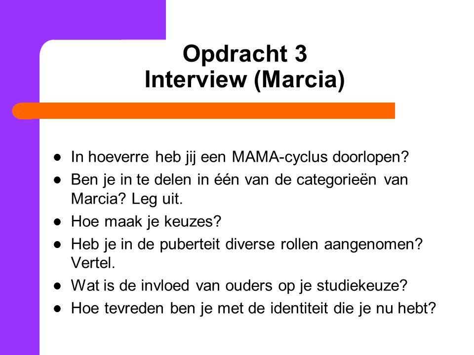 Opdracht 3 Interview (Marcia)