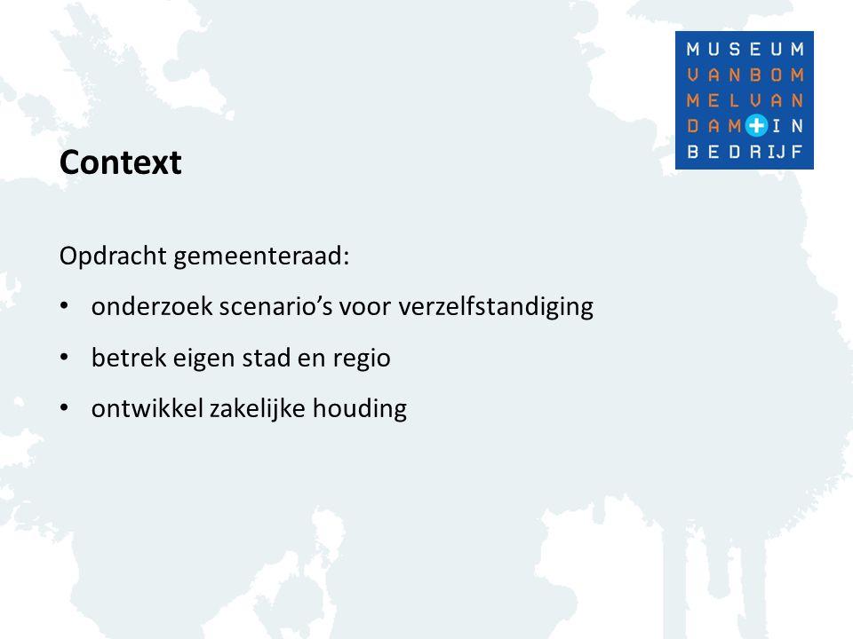 Context Opdracht gemeenteraad:
