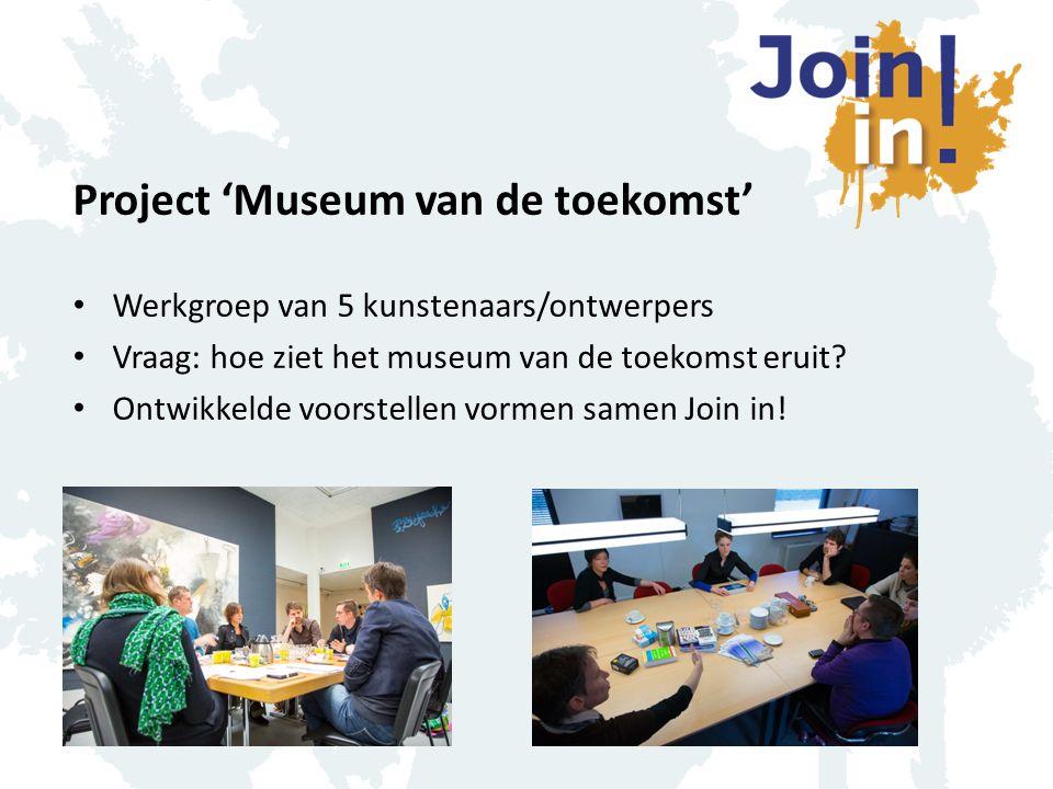 Project 'Museum van de toekomst'