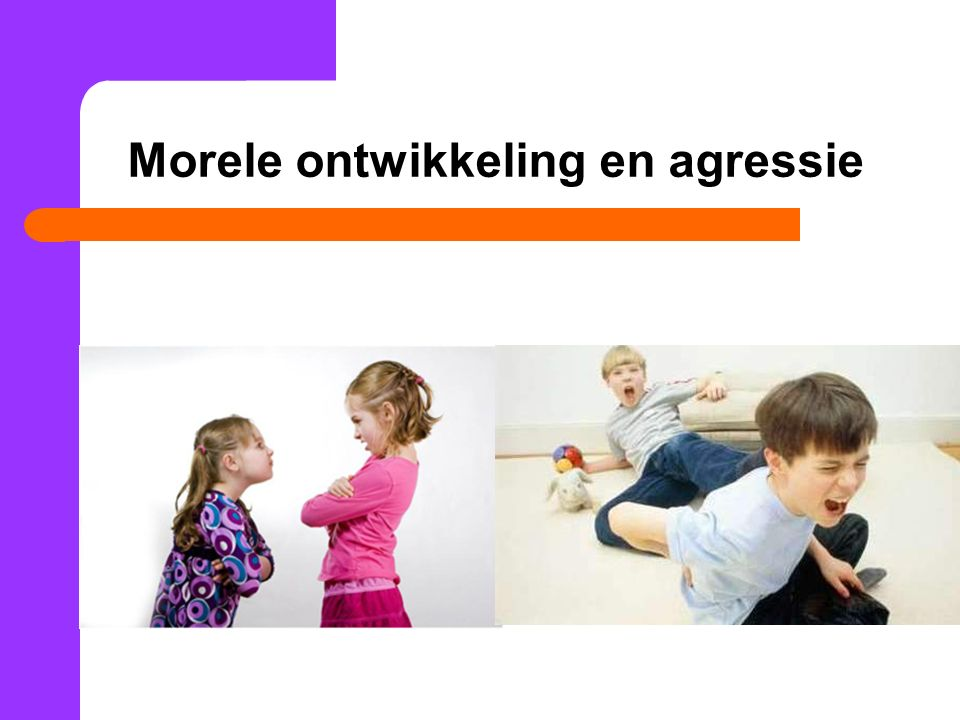 Morele ontwikkeling en agressie
