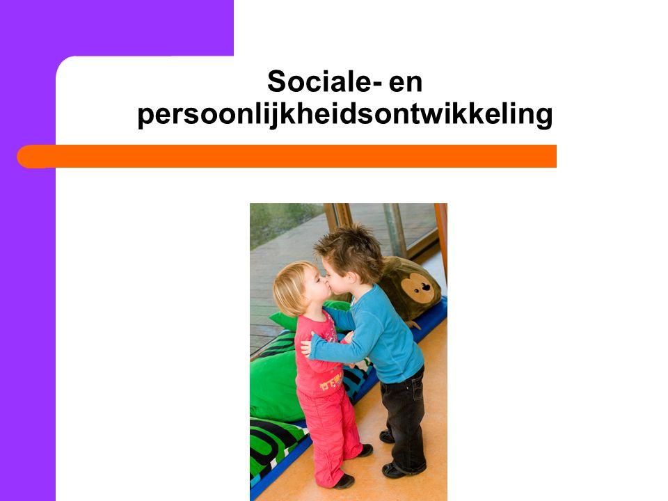 Sociale- en persoonlijkheidsontwikkeling