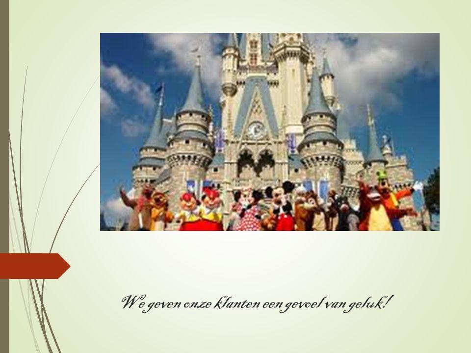 We geven onze klanten een gevoel van geluk!