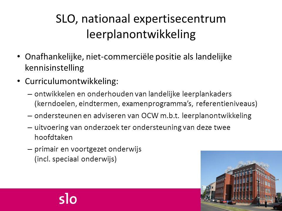 SLO, nationaal expertisecentrum leerplanontwikkeling