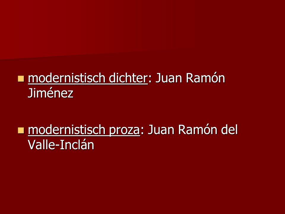 modernistisch dichter: Juan Ramón Jiménez