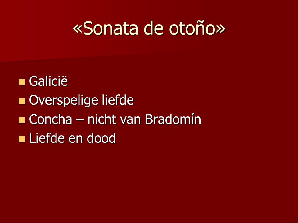 «Sonata de otoño» Galicië Overspelige liefde