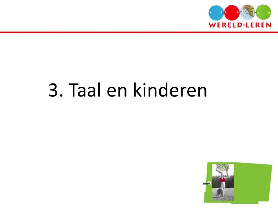 3. Taal en kinderen