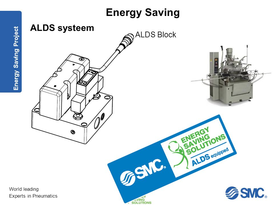 ALDS systeem ALDS Block Energy Saving Project
