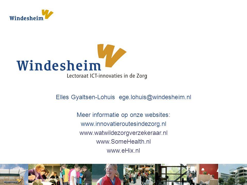 Elles Gyaltsen-Lohuis ege.lohuis@windesheim.nl