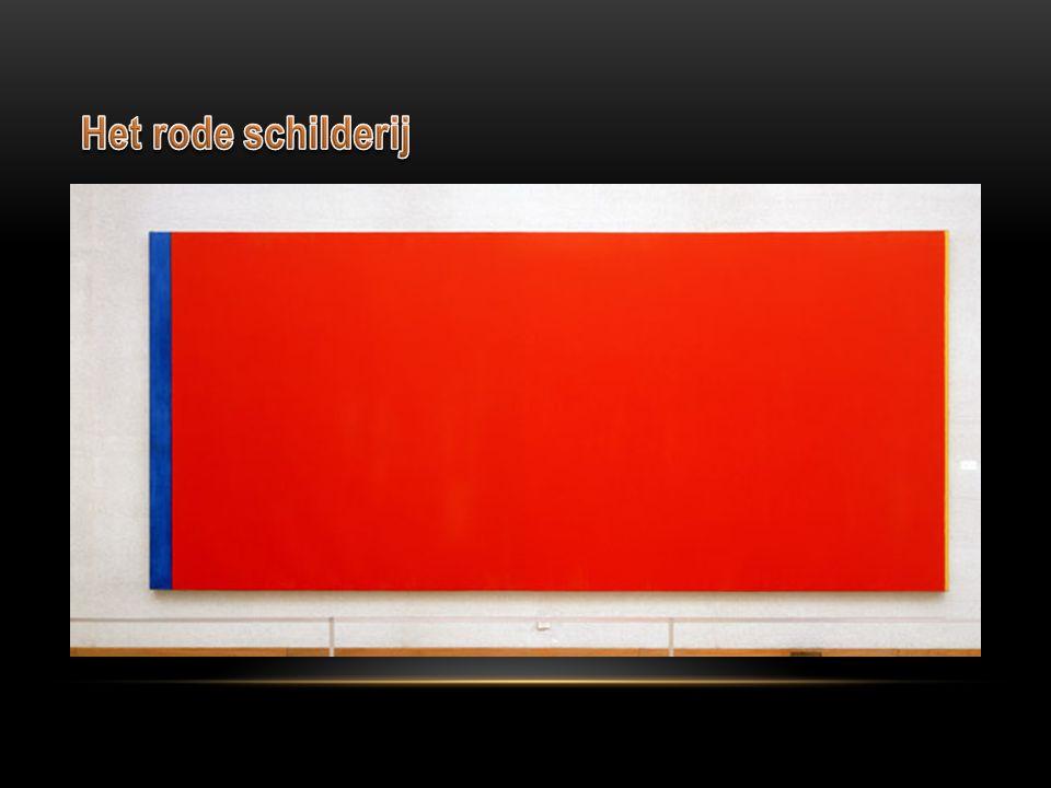 Het rode schilderij