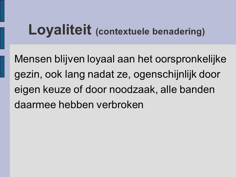 Loyaliteit (contextuele benadering)