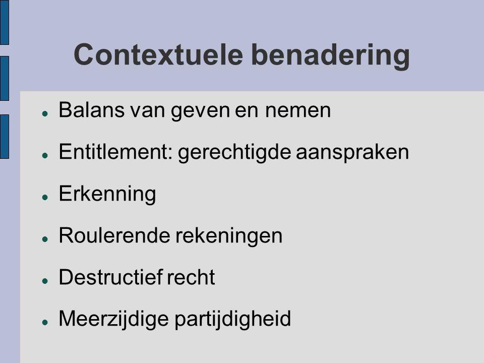 Contextuele benadering