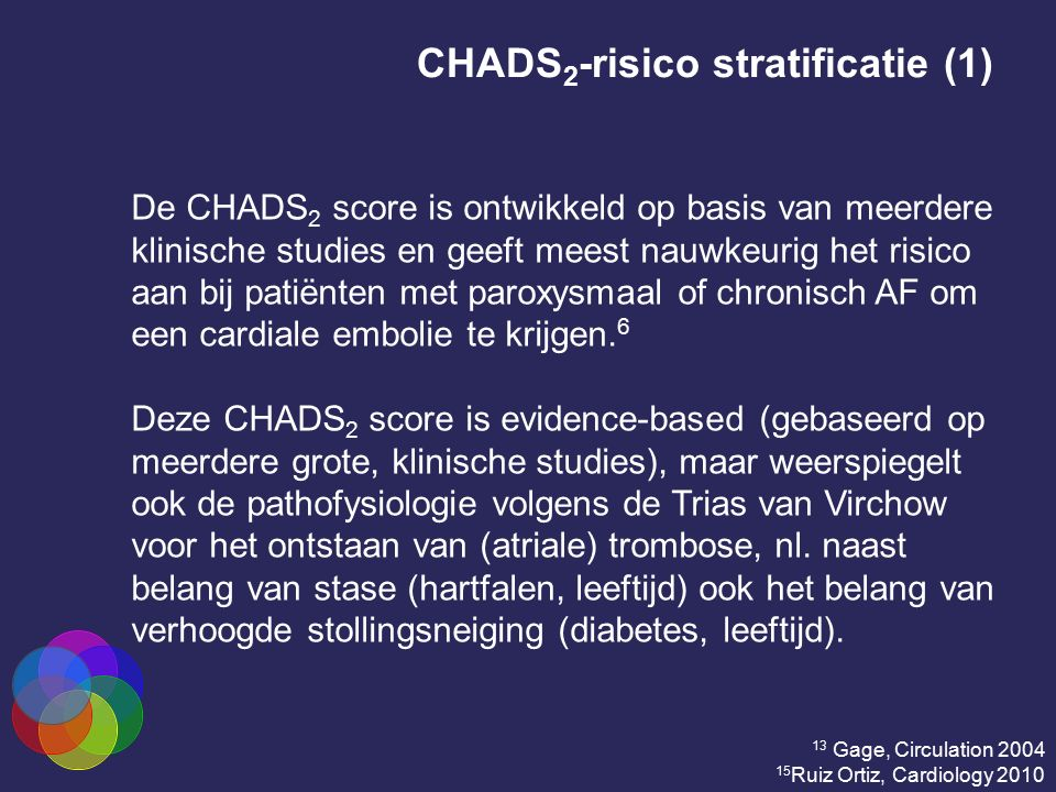 CHADS2-risico stratificatie (1)