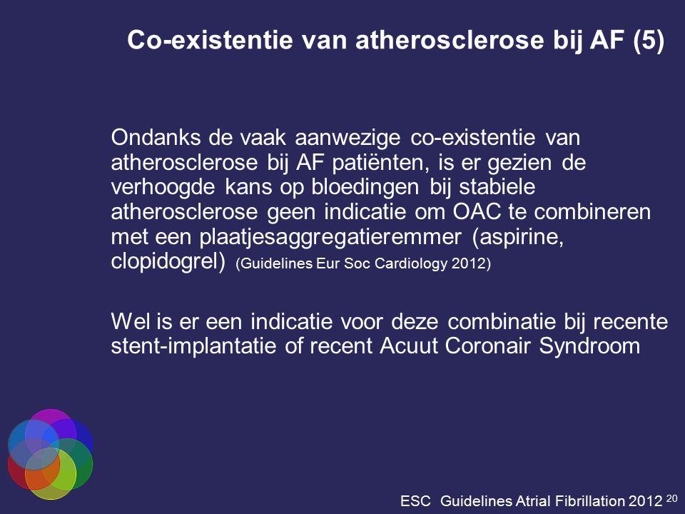 ESC Guidelines Atrial Fibrillation 2012 20