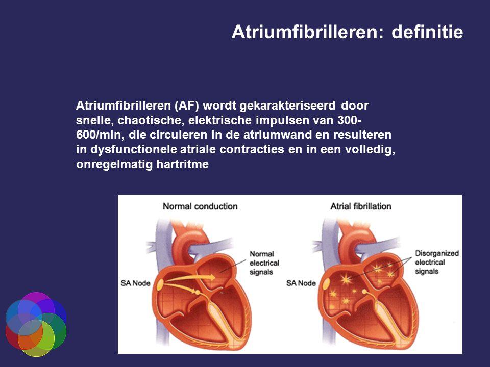 Atriumfibrilleren: definitie
