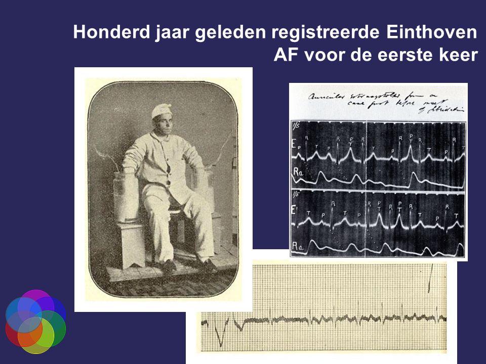 Honderd jaar geleden registreerde Einthoven AF voor de eerste keer