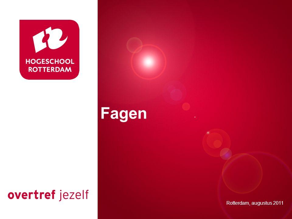 Presentatie titel Fagen Rotterdam, 00 januari 2007
