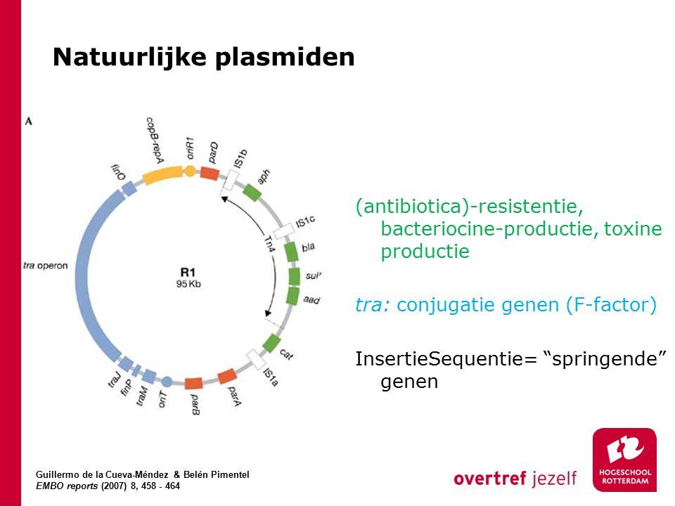 Natuurlijke plasmiden