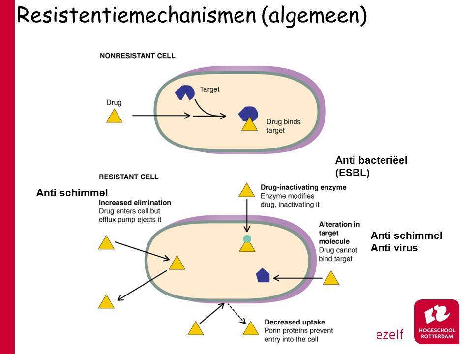 Resistentiemechanismen (algemeen)