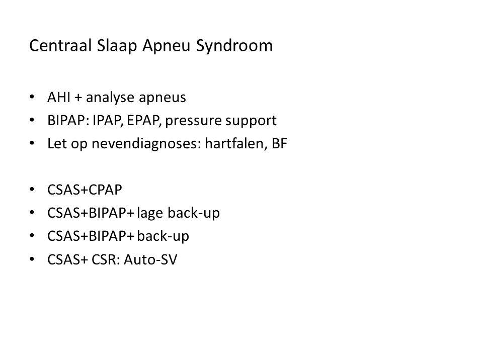 Centraal Slaap Apneu Syndroom