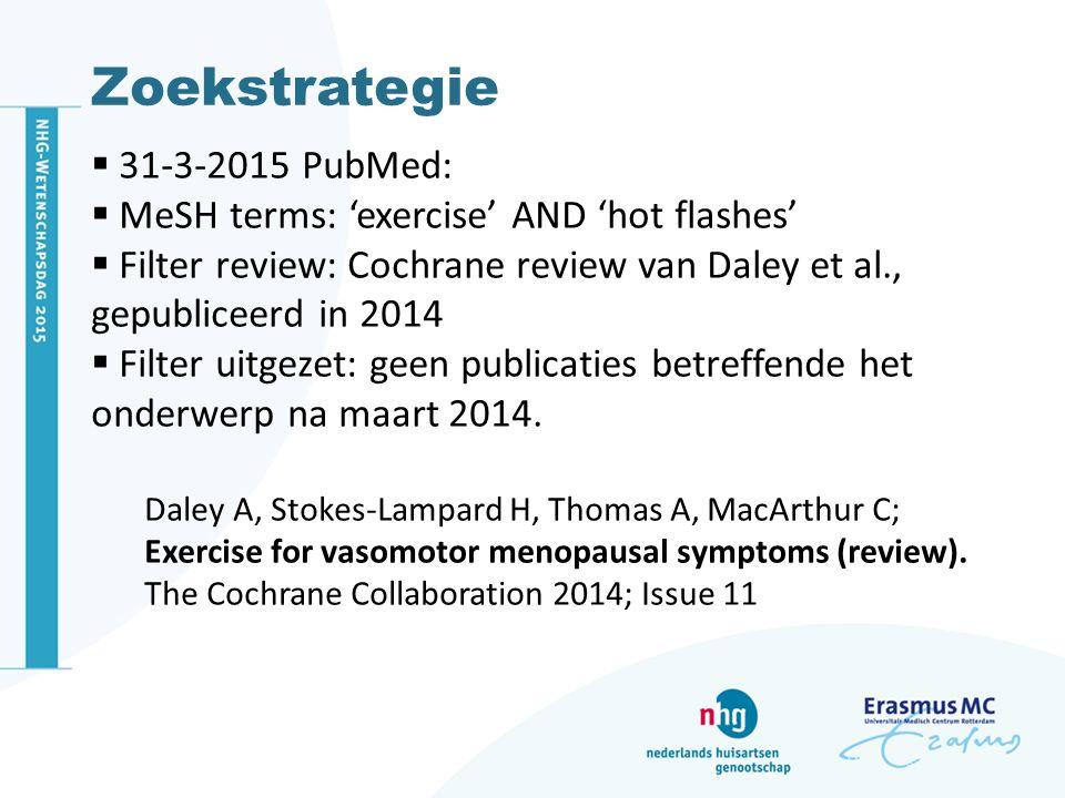 Zoekstrategie 31-3-2015 PubMed: