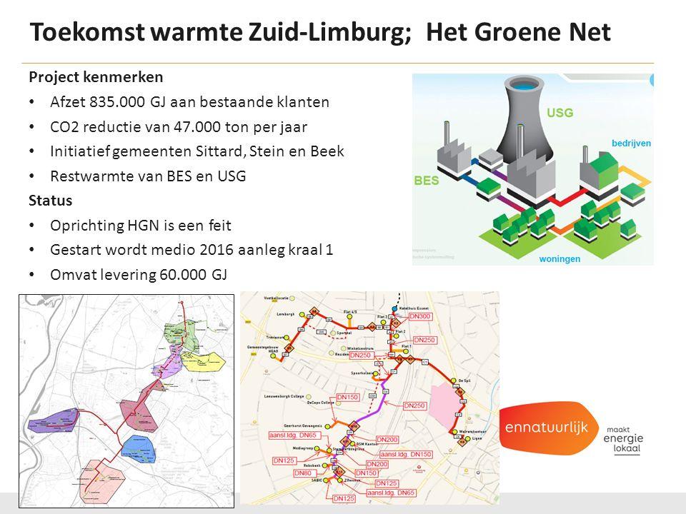 Toekomst warmte Zuid-Limburg; Het Groene Net