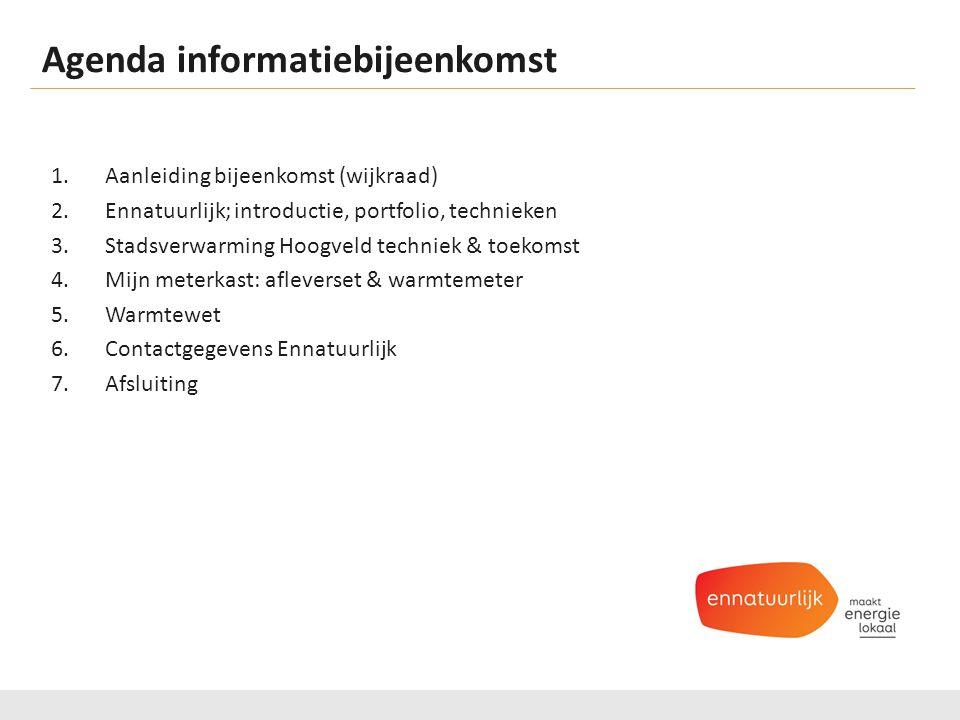 Agenda informatiebijeenkomst