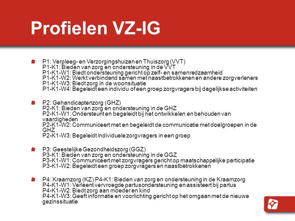 Profielen VZ-IG
