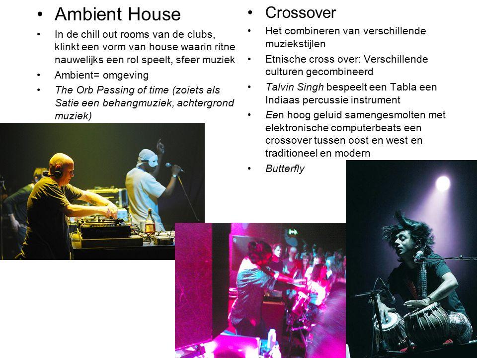 Ambient House Crossover Het combineren van verschillende muziekstijlen