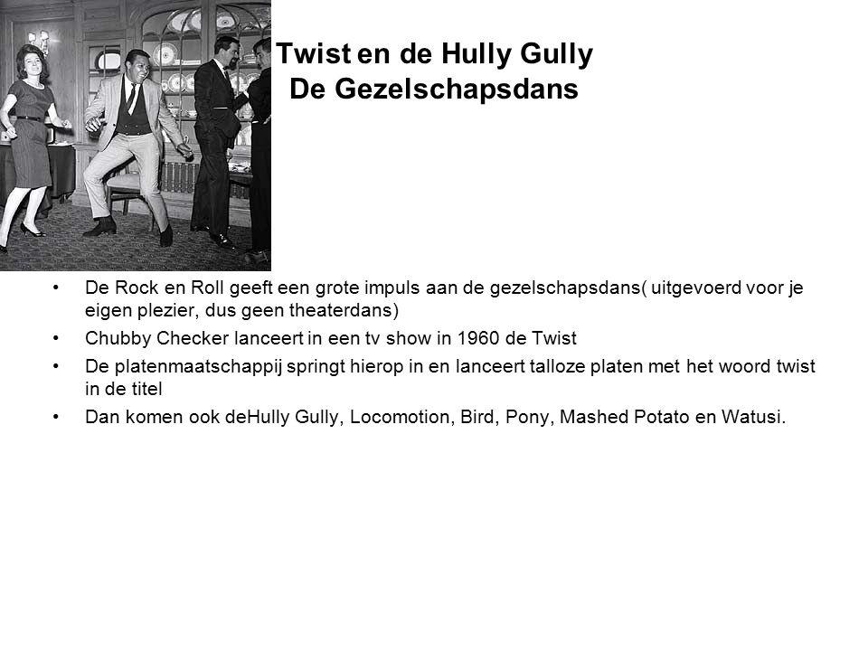Twist en de Hully Gully De Gezelschapsdans