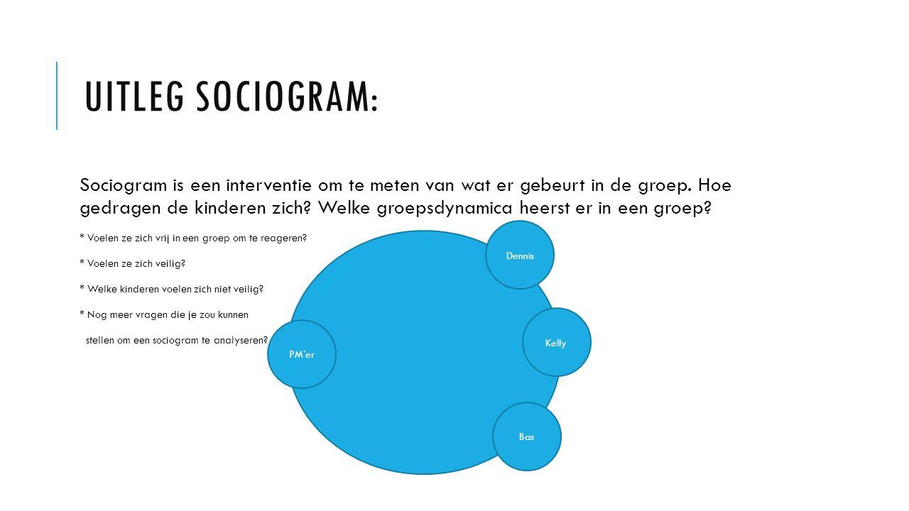 Uitleg Sociogram: