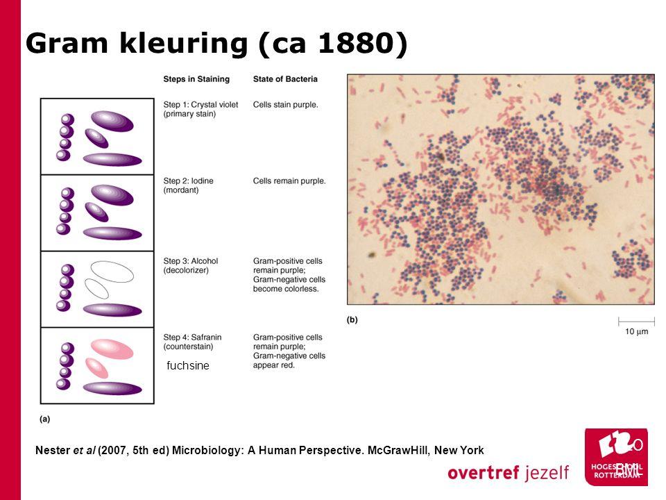 Gram kleuring (ca 1880) HLO BML