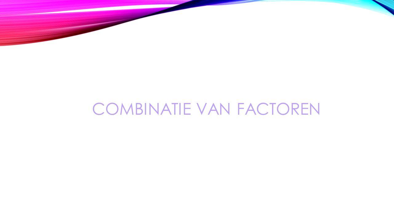 Combinatie van factoren