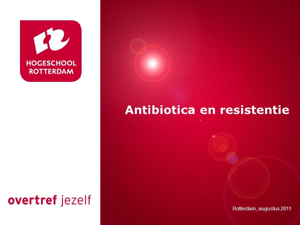 Antibiotica en resistentie